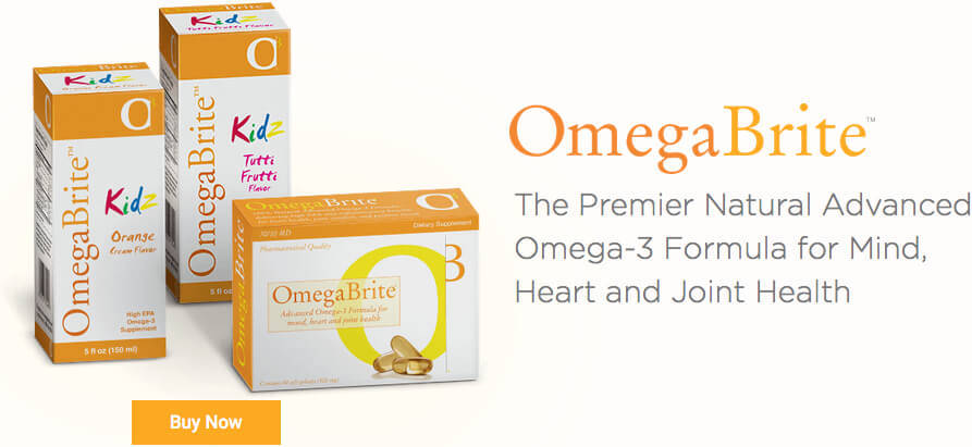 Omega 3 Fish Oil at Vitamins at OmegaBrite