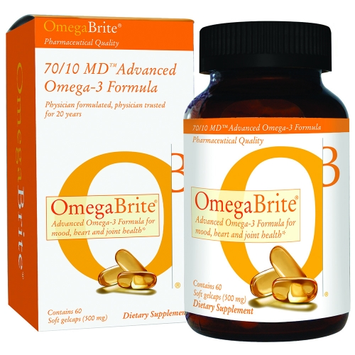 OmegaBrite 7010 MD Omega-3 Bottle