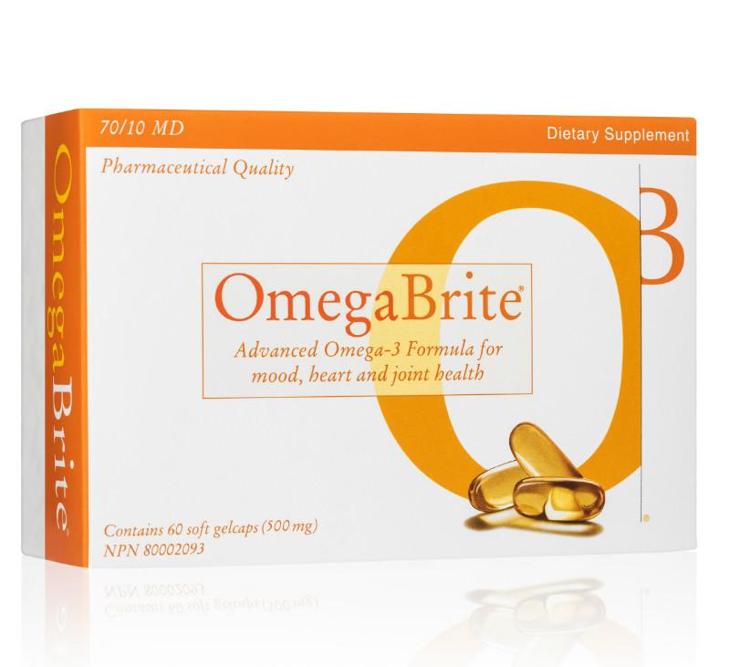 OmegaBrite Omega-3 Fish Oil
