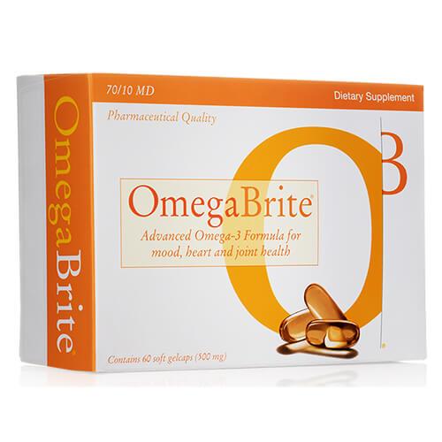 OmegaBrite 7010 MD Omega-3 Bottle