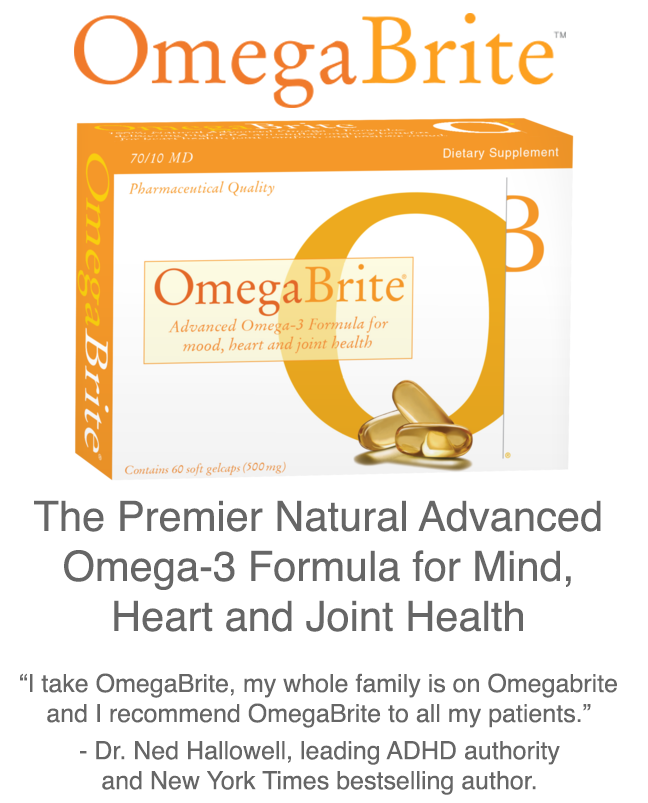 Highest purity omega 3 supplements omegabrite for Fish oil adhd
