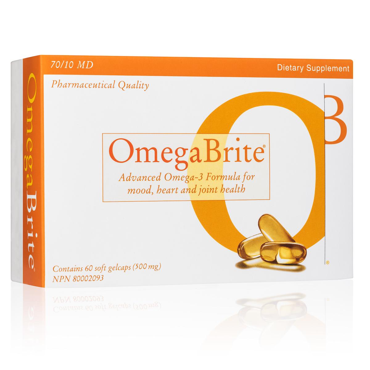 OmegaBrite Gelcaps (500mg)